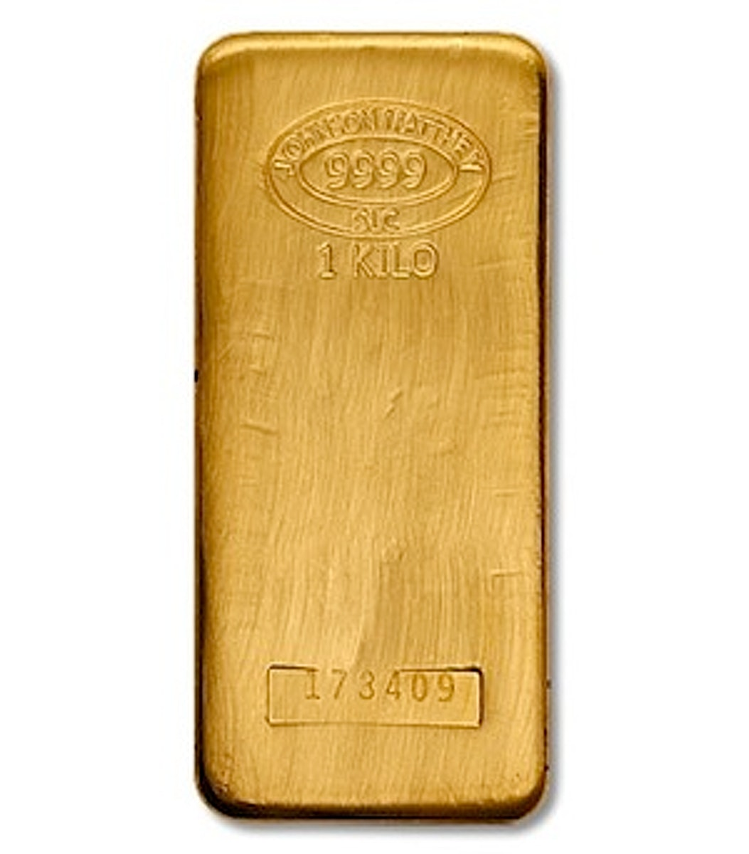 Johnson Matthey Gold Bar 1 Kg Buy Sell Store Gold In Sg