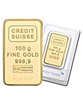 Gold Bar - Various Brands - LBMA - 100 g