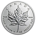 Canadian Silver Maple 2013 - 1 oz thumbnail