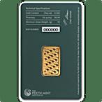 Perth Mint Gold Bar - Green - 20 g thumbnail