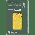 Perth Mint Gold Bar - Green - 1 oz thumbnail