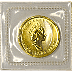 Canadian Gold Maple 1990 - 1/10 oz  thumbnail