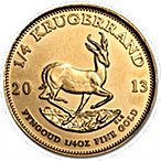 South African Krugerrand - Various years - 1/4 oz thumbnail