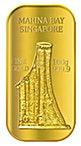 Singapore Gold Bar - MBS or Merlion - 100 g thumbnail