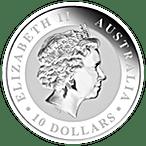 Australian Silver Kookaburra 2011 - 10 oz  thumbnail