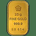 Logam Mulia Gold Bar - 25 g thumbnail