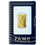 PAMP Gold Bar - Circulated in Good Condition - 3 tola thumbnail