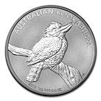 Australian Silver Kookaburra 2010 - 10 oz  thumbnail