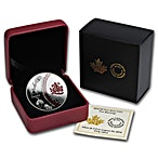 Canadian Silver $5 Five Blessings Proof - With box & COA - 2014 - 1 oz thumbnail