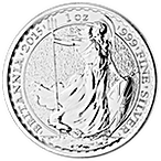 United Kingdom Silver Britannia 2015 - 1 oz  thumbnail