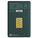 Perth Mint Gold Bar - Green - 5 g thumbnail