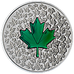 Canadian Silver $20 Maple Leaf Impression - With box & COA - 2014 - 1 oz thumbnail