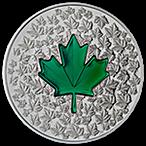Canadian Silver $20 Maple Leaf Impression - With box & COA - 2014 - 1 oz thumbnail
