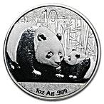 Chinese Silver Panda 2011 - 1 oz thumbnail
