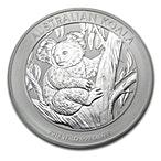 Australian Silver Koala 2013 - 1 kg thumbnail