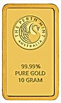 Perth Mint Gold Bar - 10 g thumbnail