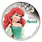 Niue 2015 Silver Disney Princess Ariel - 1 oz thumbnail
