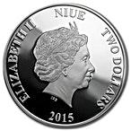 Niue 2015 Silver Forgotten Cities Angkor Wat - 1 oz thumbnail
