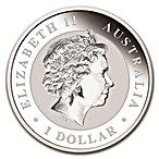 Australian Silver Kookaburra 2016 - 1 oz  thumbnail