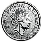 United Kingdom Silver Britannia 2016 - 1 oz  thumbnail