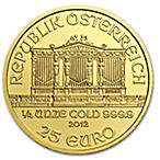 Austrian Gold Philharmonic 2009 - 1/4 oz thumbnail