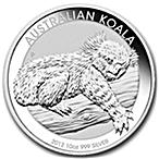 Australian Silver Koala 2012 - 10 oz thumbnail