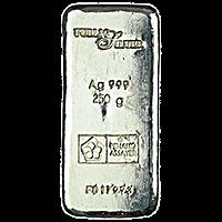 Public Silver Cast Bar - 250 gram