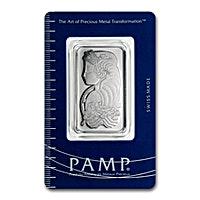 PAMP Suisse Platinum Bar - 1 oz