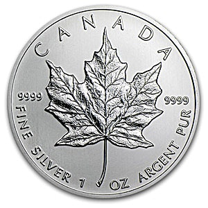 Canadian Silver Maple 2013 - 1 oz