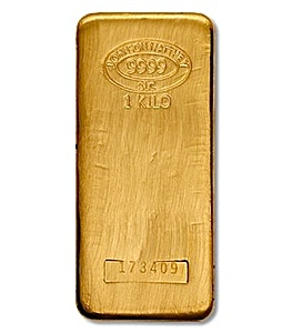 Johnson Matthey Gold Bar - 1 kg
