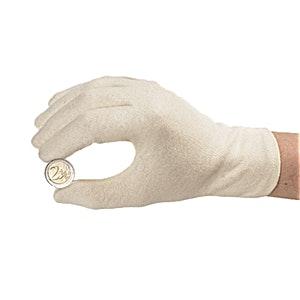 Cotton Coin Gloves, Pair