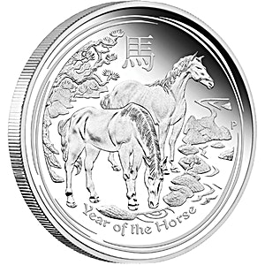 Australian Silver Lunar Series 2014 - Year of the Horse - 10 kg