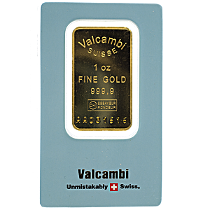 Valcambi Gold Bar - 1 oz