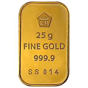 Buy Logam Mulia Gold Bar 25 G Indonesian Gold Bars