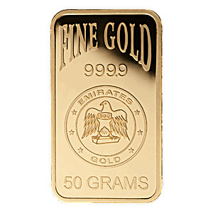Emirates Gold Bar - 50 g