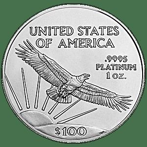 American Platinum Eagle - Various Years - 1 oz