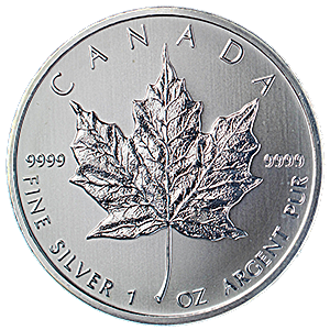 Canadian Silver Maple 2012 - 1 oz