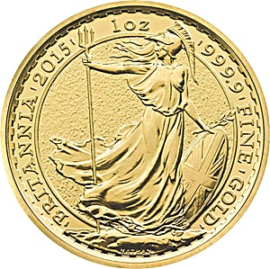 United Kingdom Gold Britannia 2015 - 1 oz