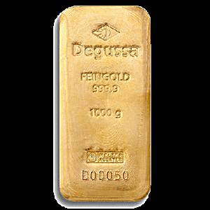 Degussa Gold Bar - 1 kg