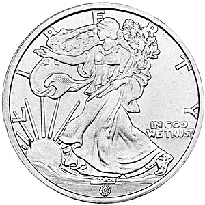 Walking Liberty Silver Round - 1/10 oz