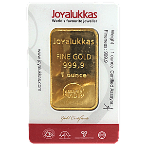 Joyalukkas Gold Bar - 1 oz