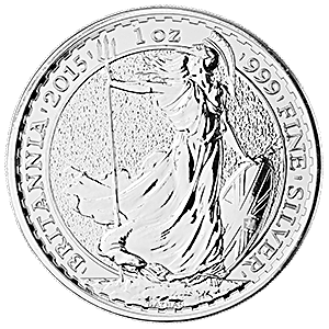 United Kingdom Silver Britannia 2015 - 1 oz