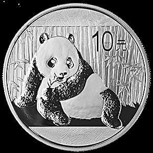 Chinese Silver Panda 2015 - 1 oz