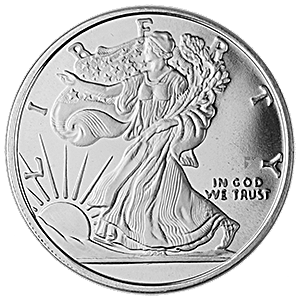 Walking Liberty Silver Round - 1 oz