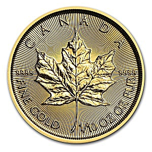 Canadian Gold Maple 2015 - 1/10 oz