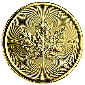 Canadian Gold Maple 2015 - 1/4 oz