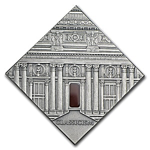 Niue 2014 Silver Art that changed the world - Classicism  - 0.9093 oz