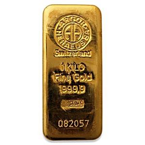 Argor-Heraeus Gold Bar - 1 kg