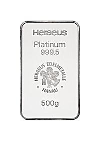 Heraeus Platinum Bar - 500 g