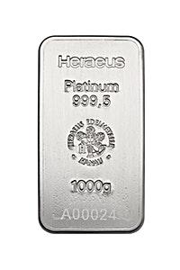 Heraeus Platinum Bar - 1000 g